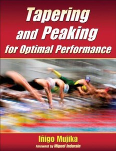 Portada del libro Tapering and peaking for optimal performance de  Iigo Mujika