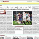 El artículo, publicado en el diario El Periódico