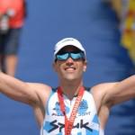 El triatleta Eneko Llanos