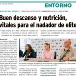 Entrevista a Iñigo Mujika en Diario Médico sobre la preparación de los nadadores de élite
