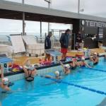 Nadadoras de élite en Tenerife