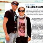 El entrenador Iñigo Mujika y la triatleta Ainhoa Murua