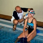 Lactate testing on triathlete Ainhoa Murua