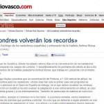 Entrevista a Iñigo Mujika en El Diario Vasco