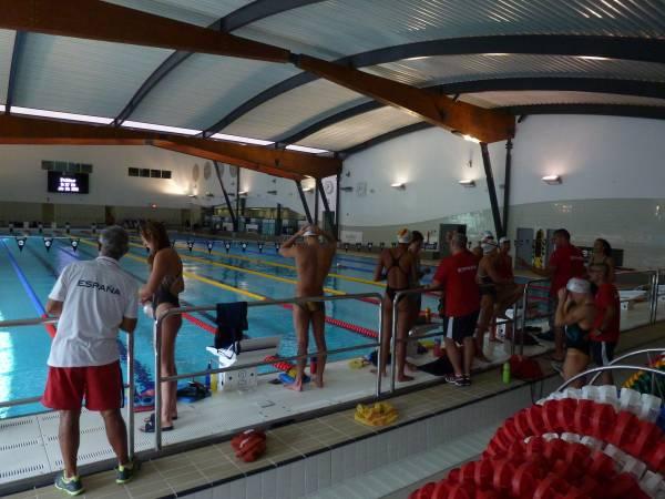 Concentración del Equipo Olímpico Español de Natación en Londres (Foto: Iñigo Mujika)