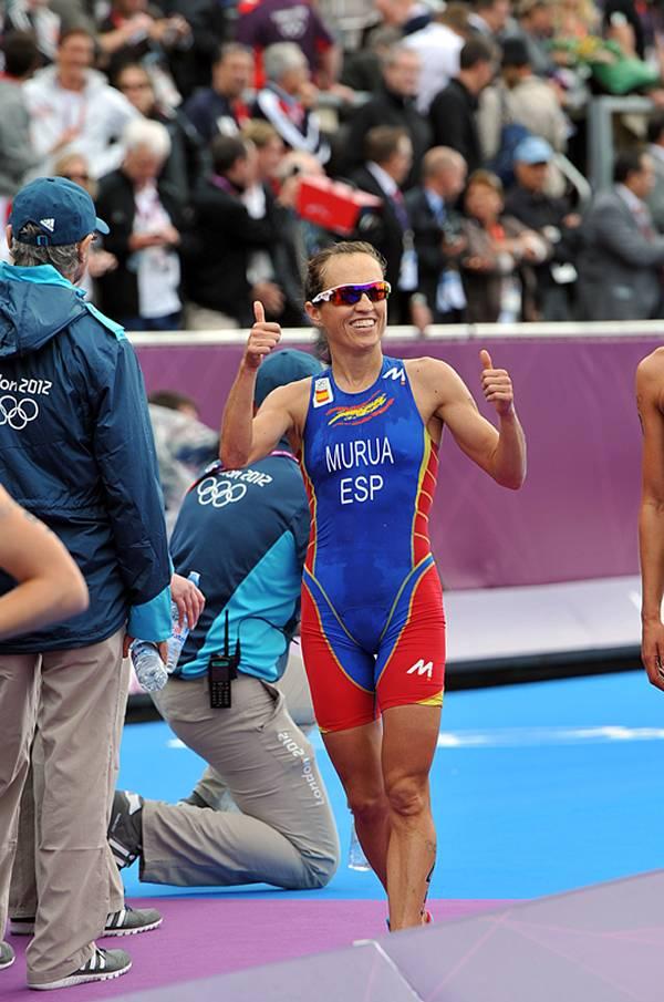 Ainhoa Murua, séptima en el Triatlón Olímpico (Foto: Finisher Triatlón