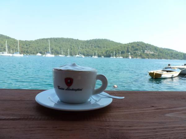 Café en Croacia (Foto: Iñigo Mujika)