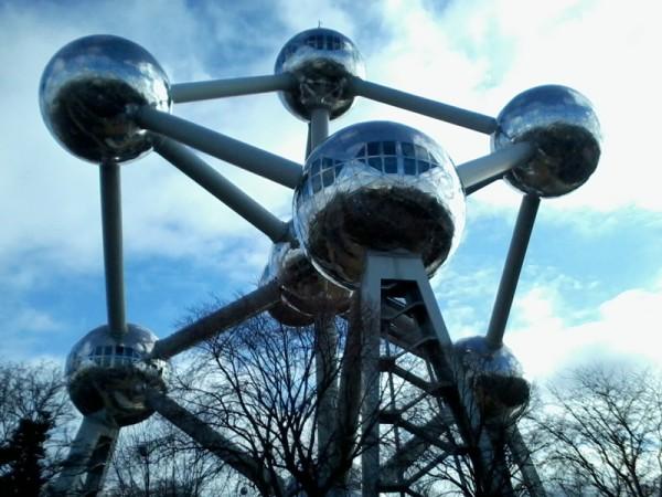 El Atomium de Bruselas. (Foto: Iñigo Mujika)