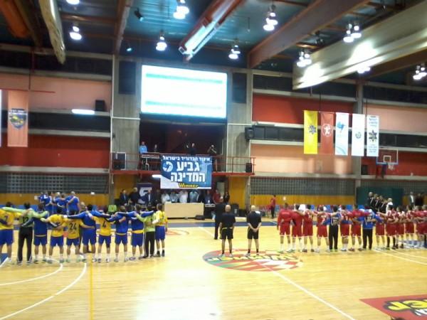 Semifinales de la Copa de Israel de Balonmano. (Foto: Iñigo Mujika)