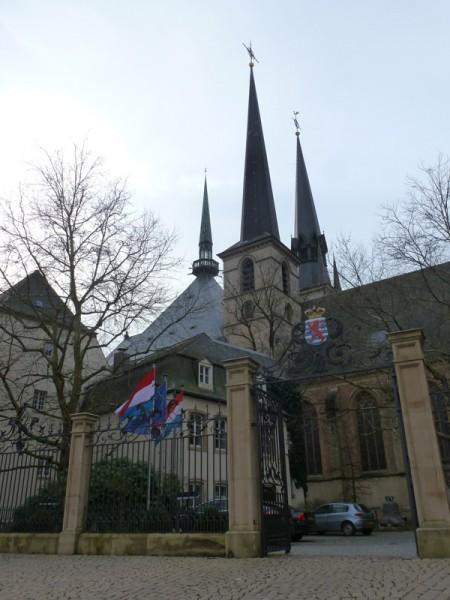 Casco antiguo de Luxemburgo. (Foto: Iñigo Mujika)