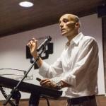 Durante la conferencia (Foto: Diario de Noticias de Álava)