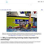 Entrevista con Iñigo Mujika en Swimming Science